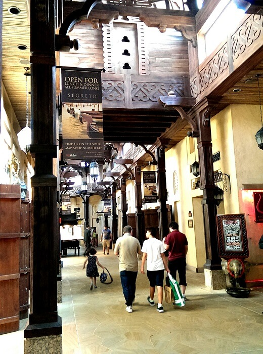 Souk Madinat Jumeirah in Dubai (photo by Sheila Scarborough)