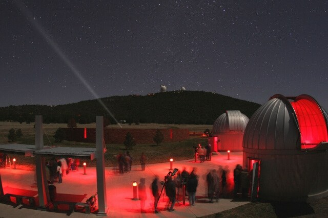 Star Party at the Frank N. Bash Visitors Center (photo courtesy McDonald Observatory in Fort Davis TX)