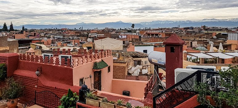 Streets in Marrakech Cover
