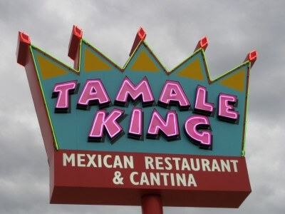 Tamale King at Lake Buchanan Texas (photo by Sheila Scarborough)