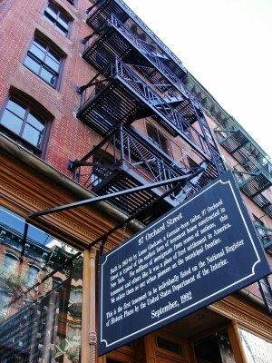 Lower East Side Tenement Museum at 97 Orchard Street New York (photo by Sheila Scarborough)