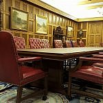 The Board Room at First State Bank in Uvalde TX (photo by Sheila Scarborough)