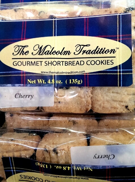 The Malcolm Tradition shortbread at Detroit's Eastern Market, this one with Traverse City MI cherries (photo by Sheila Scarborough)