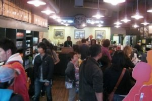 The original Starbucks near Pike Place Market (photo by Sheila Scarborough)