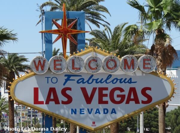 The Welcome to Fabulous Las Vegas sign in Las Vegas, Nevada