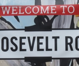 Welcome to the Roosevelt Row Art District in Phoenix, Arizona