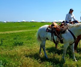 Part of the welcoming crew at Symphony in the Flint Hills in Kansas (photo by Sheila Scarborough)