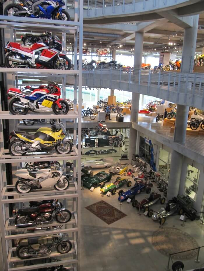 At the Barber Motorsports Museum near Birmingham, Alabama