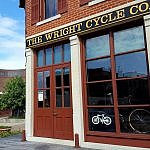 Wright Cycle Shop exterior Dayton Ohio (photo by Sheila Scarborough)