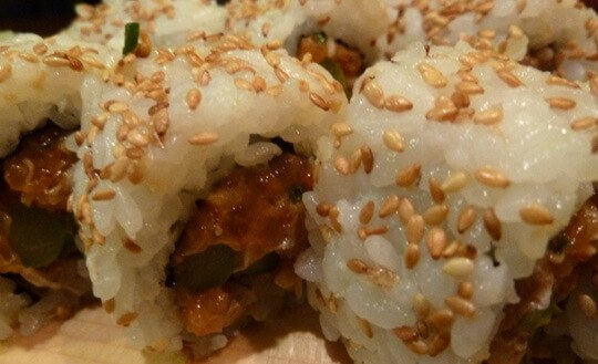 Spicy Tuna Roll Yaki Ten