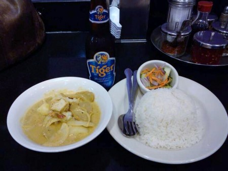 Yellow curry at King of Thai Noodle, San Francisco