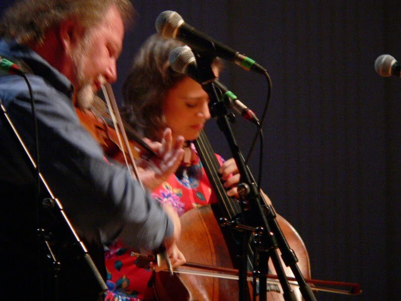 alasdair fraser natalie haas at celtic connections glasgow by kerry dexter