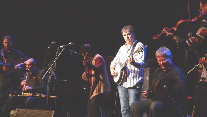 bela fleck at celtic conections copyright kerry dexter