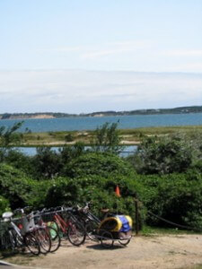 Bikes on Martha's Vineyard