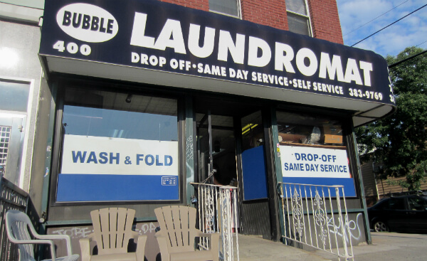 Bubble Laundromat