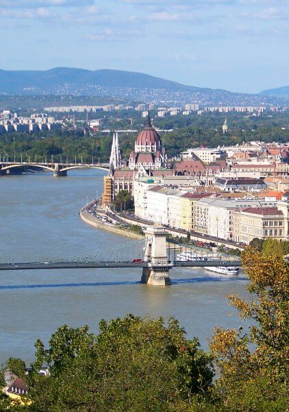Buadepset and Danube River