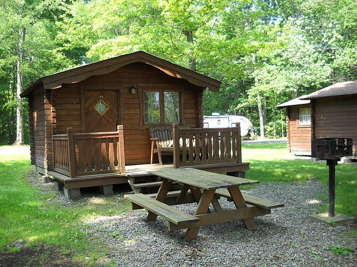 campground cabin rental