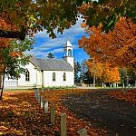 acadian canada- new brunswick historic church