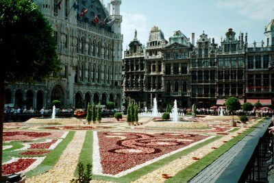 Carpet of Flowers, Brussels, Belgium (Scarborough photo)
