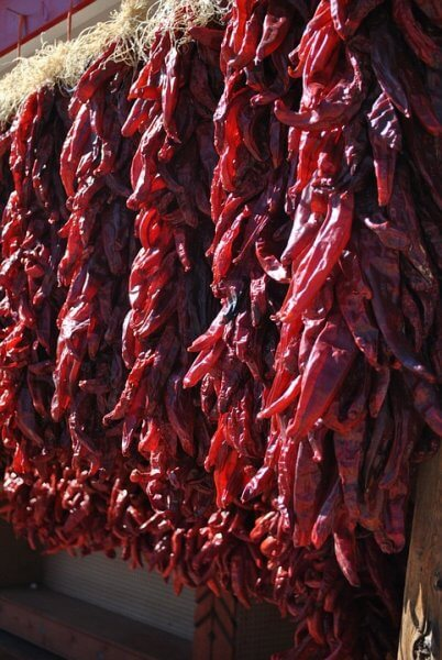 chile ristras new mexico
