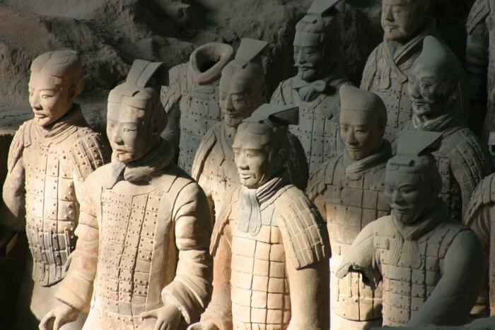 China Xian Teracotta army