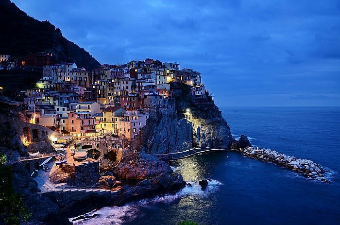 Manarola on the Cinque Terre coast