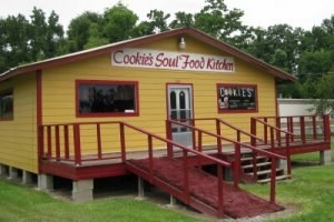 Cookie's Soul Food Kitchen restaurant in Ames Texas (photo by Sheila Scarborough)