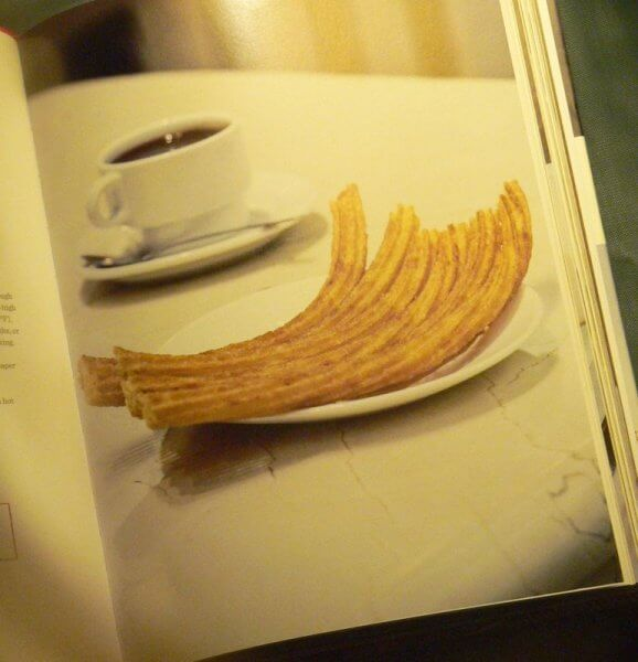 lonely planet spain cook book churros