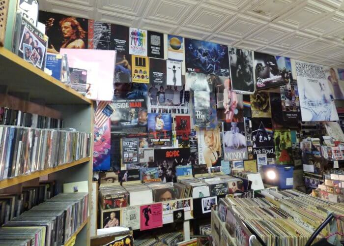 Downtown DeLand record store