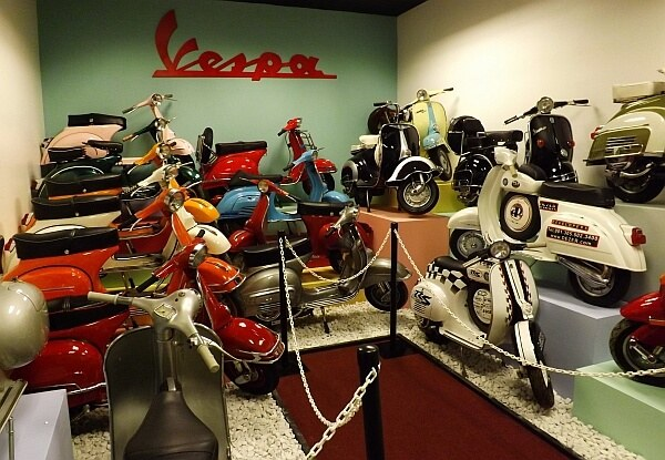 Vespa motorbike collection