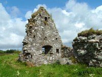 Stone houses from an almost forgotten ancient history on Scotland's Isle of Islay