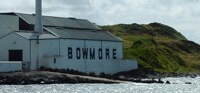 Bowmore, one of the many single-malt whisky distilleries on Scotland's Isle of Islay