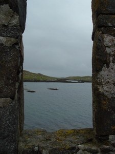 From Kisimul Castle onto Castlebay