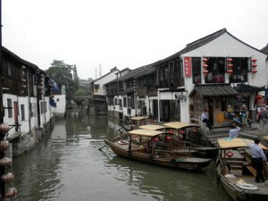 Zhujiajiao, China, Where the Good Life Was