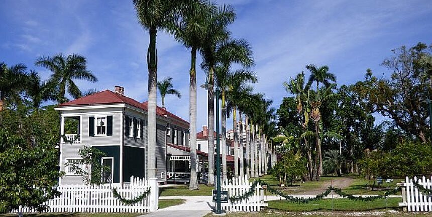 Visit Edison and Ford Estates in Fort Myers, Florida