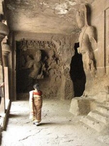 elephanta caves mumbi india one