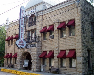 Eureka Springs, Arkansas, the Palace Bath House (photo by Sheila Scarborough)