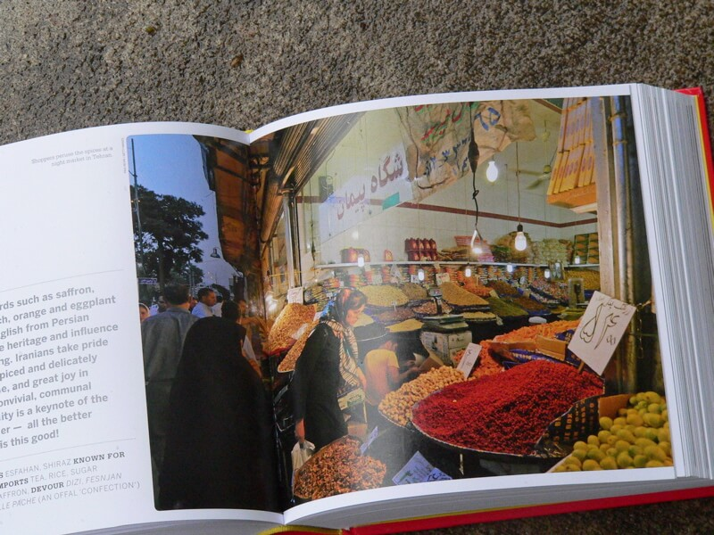 food book Iran market