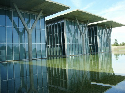 Modern Art Museum of Fort Worth TX, designed by Tadao Ando (photo by Sheila Scarborough)