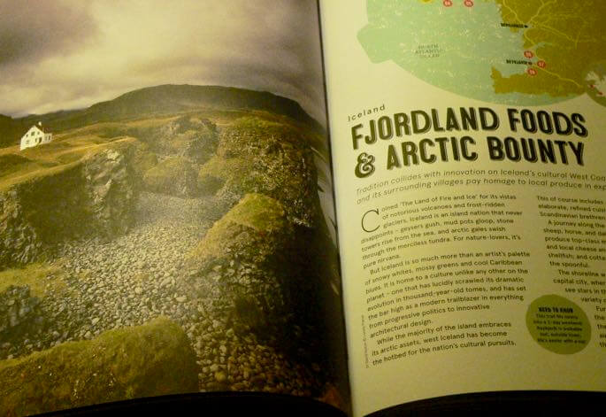 food trails book arctic pages