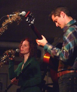 matt and shannon heaton at club passim
