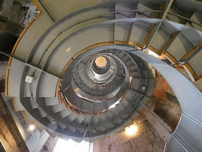 lighthouse staircase glasgow scotland photo by kerry dexter