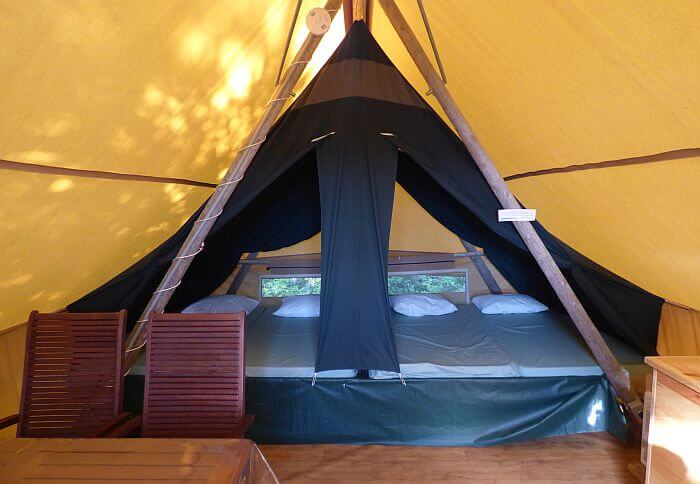 glamping tent for vacation