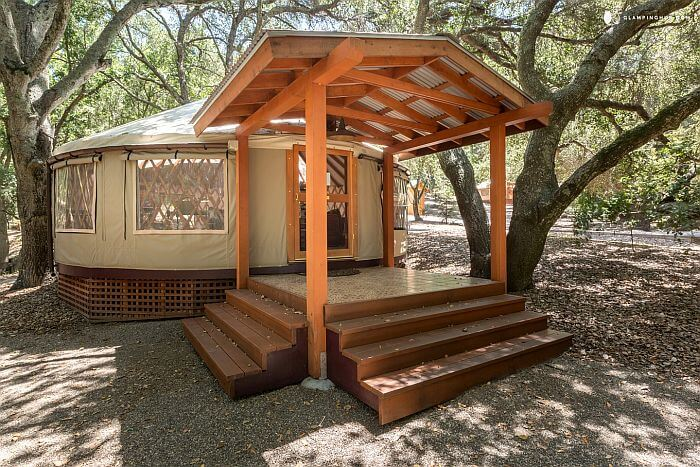 California yurt rental