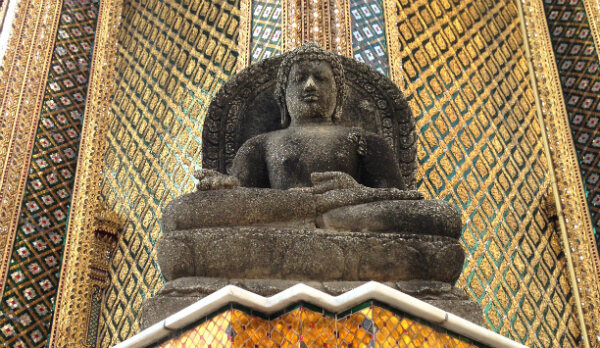 Buddha at Bangkok Grand Palace