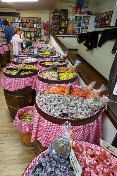 Candy at Mast General Store
