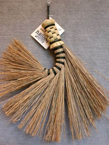 Handmade whisk broom at the Folk Art Center, Blue Ridge Parkway near Asheville NC (Scarborough photo)