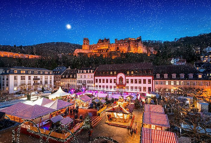 Heidelberg Germany during the Christmas Markets by by Tobias Schwert