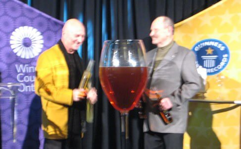 Icewine World Record