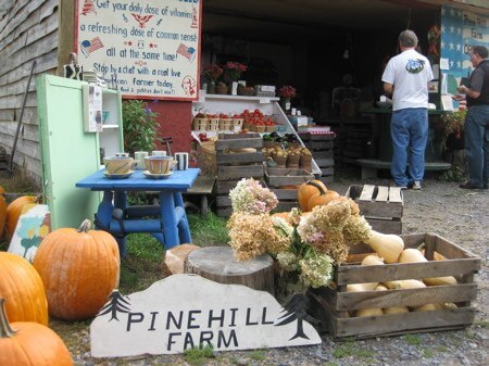 Farm Stand at Pine Hill Farm, Chester, NY